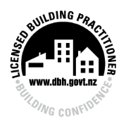 Bragg Building Licensed building practitioner